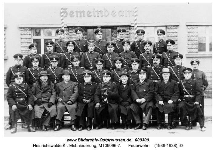 Heinrichswalde, Feuerwehr