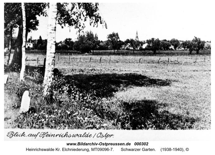 Heinrichswalde, Schwarzer Garten