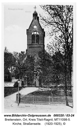 Breitenstein, Kirche, Straßenseite