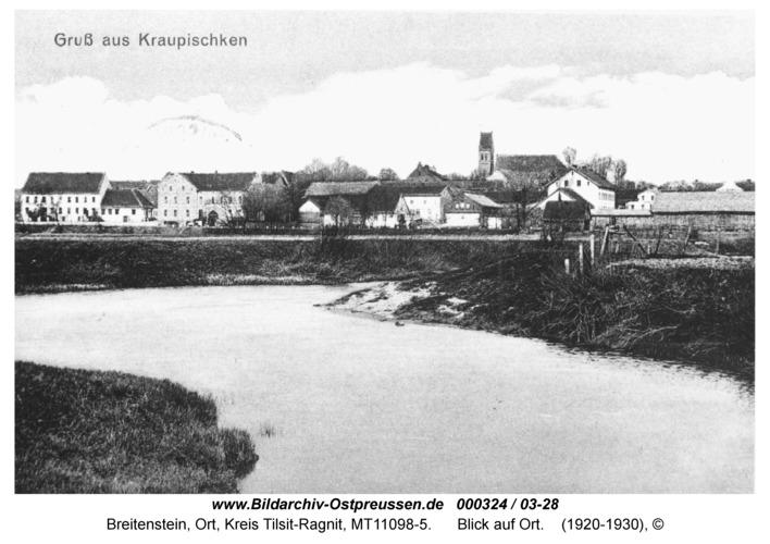 Breitenstein, Blick auf Ort
