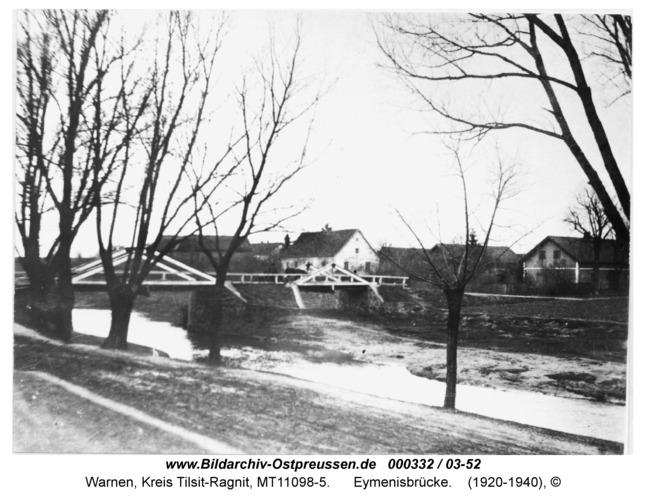 Warnen, Eymenisbrücke