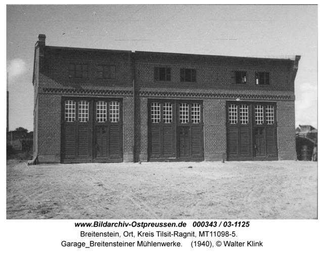 Breitenstein, Garage Breitensteiner Mühlenwerke