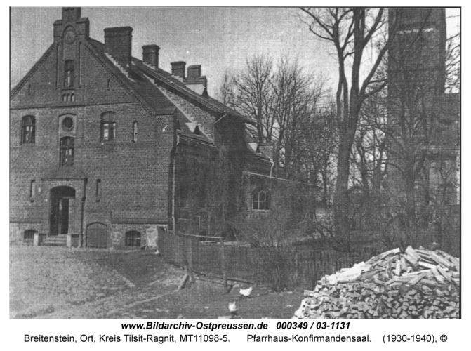 Breitenstein, Pfarrhaus-Konfirmandensaal