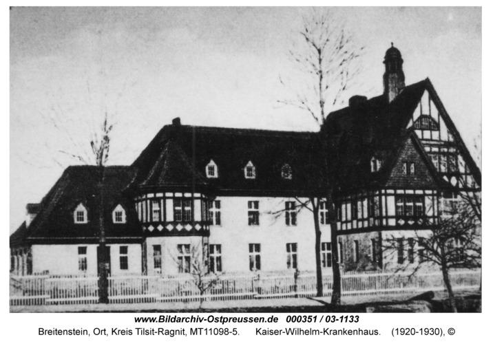 Breitenstein, Kaiser-Wilhelm-Krankenhaus