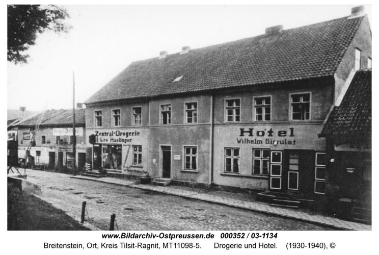 Breitenstein, Drogerie und Hotel