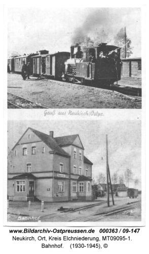 Neukirch, Bahnhof