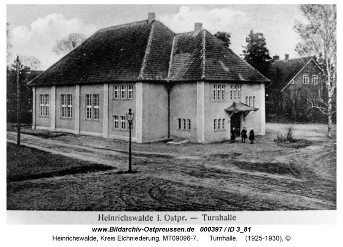 Heinrichswalde, Turnhalle