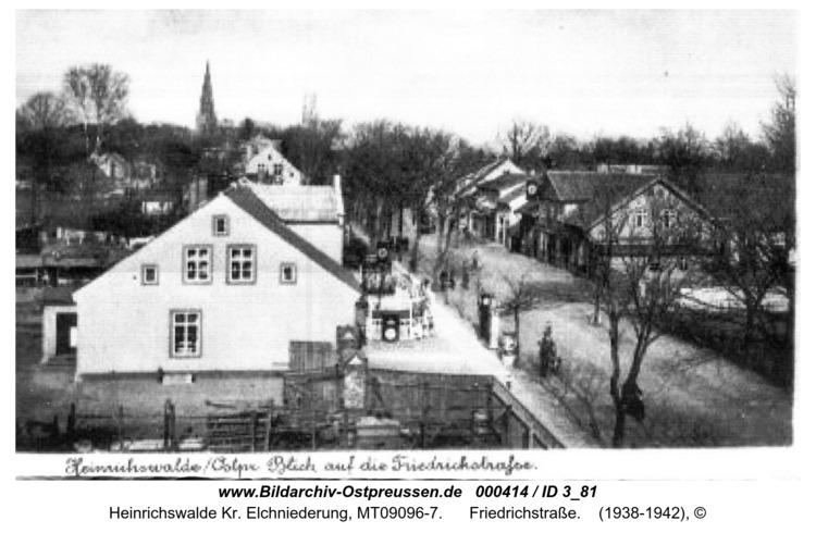 Heinrichswalde, Friedrichstraße