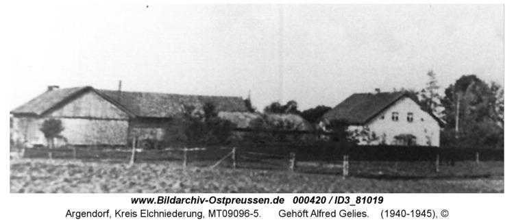 Argendorf, Gehöft Alfred Gelies