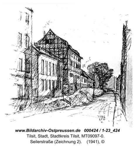 Tilsit, Seilerstraße (Zeichnung 2)