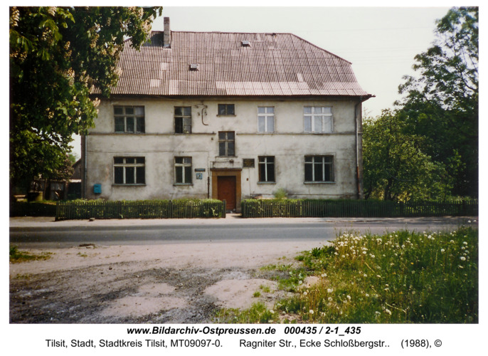 Tilsit, Ragniter Str., Ecke Schloßbergstr.