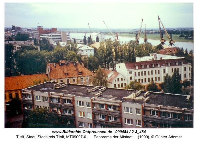 Tilsit, Panorama der Altstadt