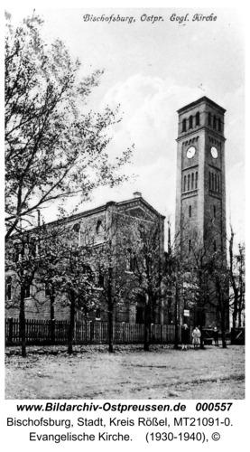Bischofsburg, evangelische Kirche