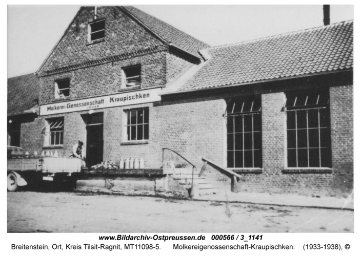 Breitenstein, Molkereigenossenschaft-Kraupischken