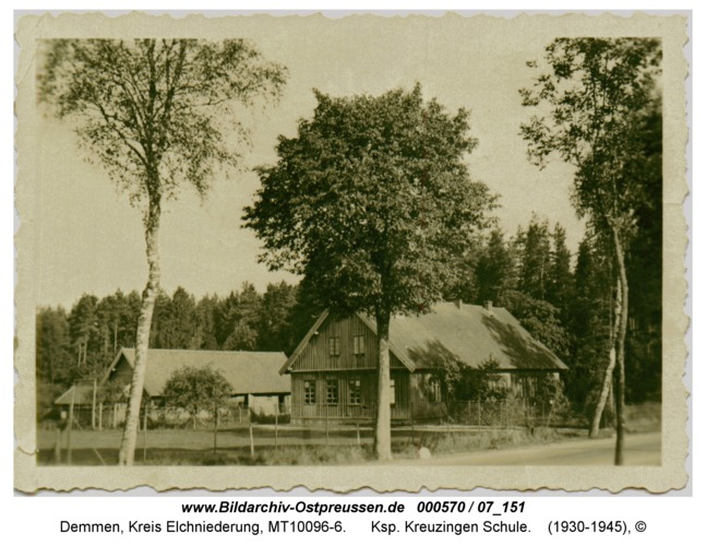 Demmen, Ksp. Kreuzingen Schule