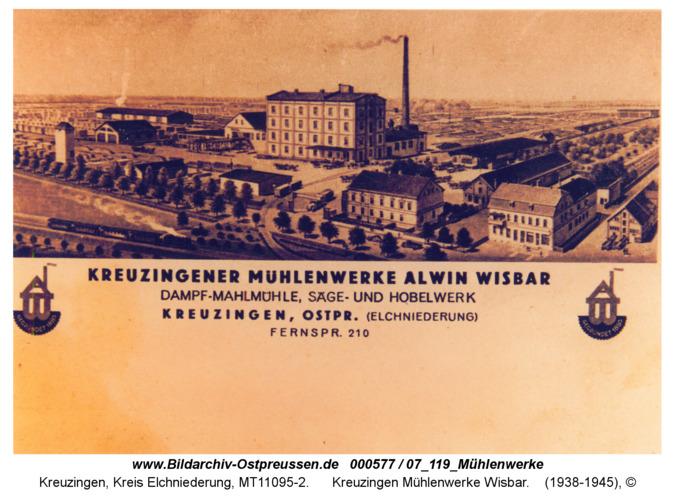 Kreuzingen, Mühlenwerke Wisbar
