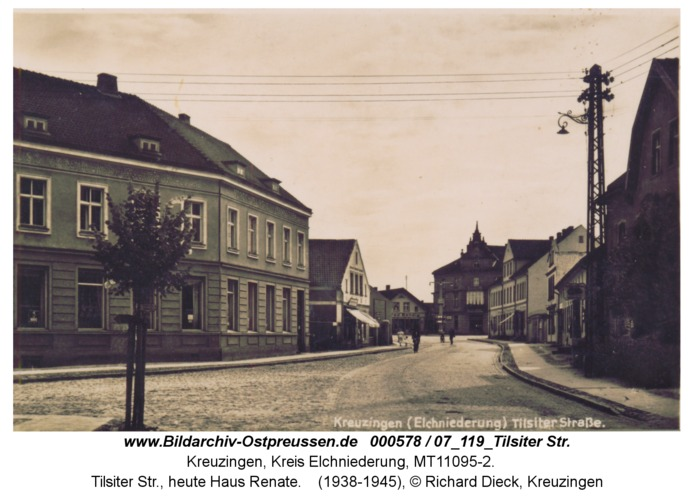 Kreuzingen, Tilsiter Str., heute Haus Renate