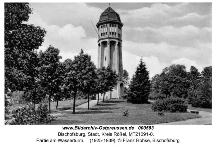 Bischofsburg, Partie am Wasserturm