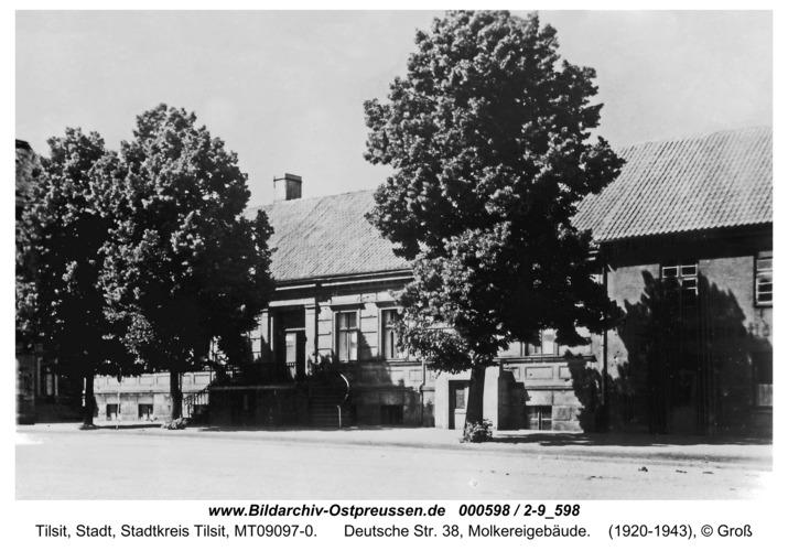 Tilsit, Deutsche Str. 38, Molkereigebäude