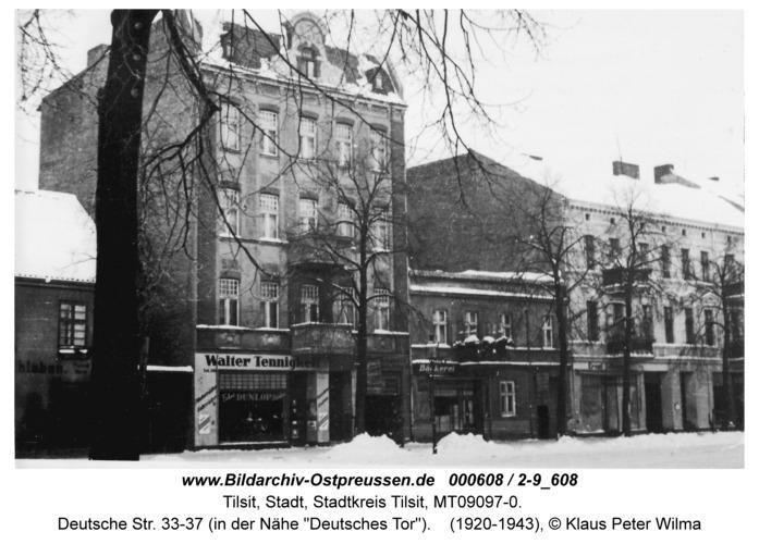 """Tilsit, Deutsche Str. 33-37 (in der Nähe """"Deutsches Tor"""")"""