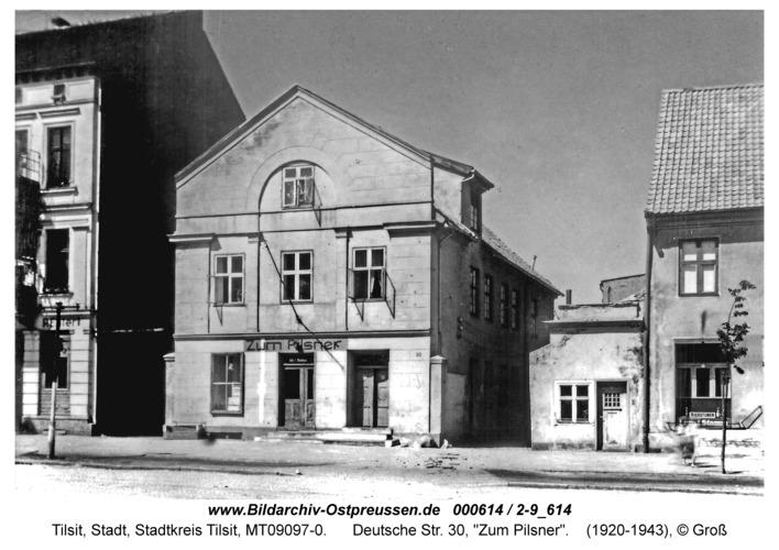 "Tilsit, Deutsche Str. 30, ""Zum Pilsner"""