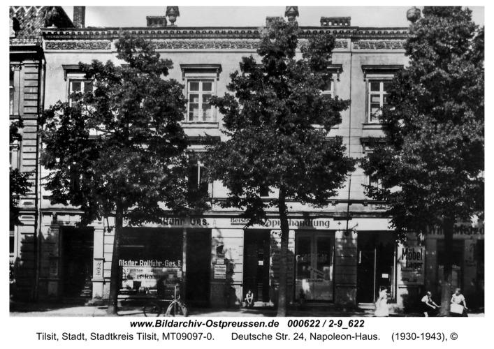 Tilsit, Deutsche Str. 24, Napoleon-Haus