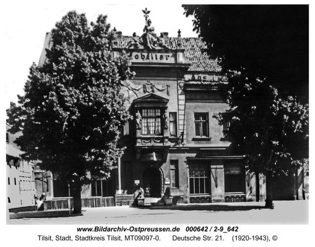 Tilsit, Deutsche Str. 21