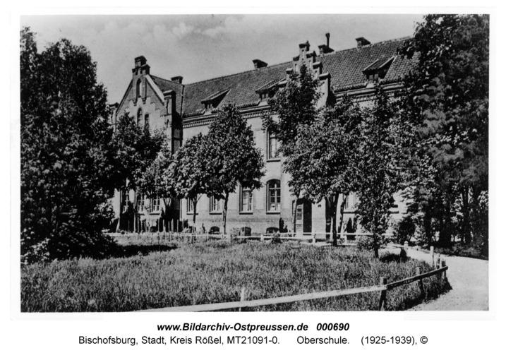 Bischofsburg, Oberschule