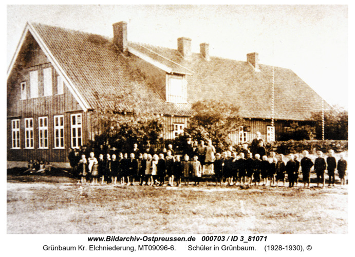 Grünbaum, Schüler in Grünbaum