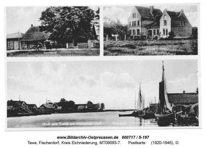 Tawe, Postkarte