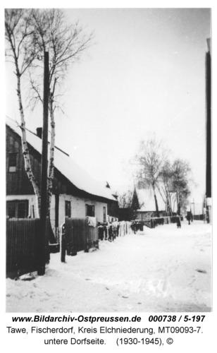 Tawe, untere Dorfseite