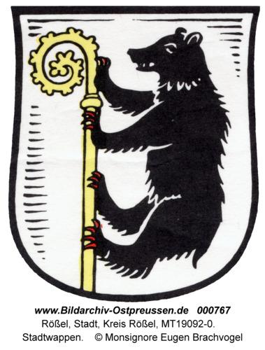 Rößel, Stadtwappen