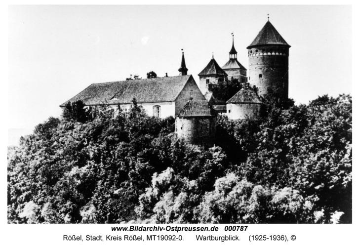 Rößel, Wartburgblick