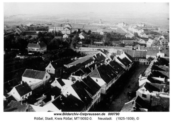 Rößel, Neustadt