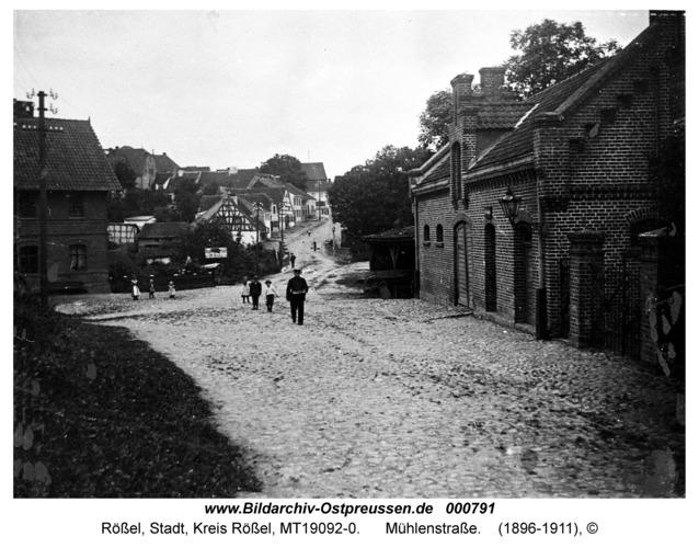 Rößel, Mühlenstraße