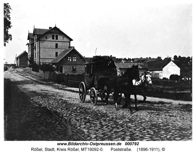 Rößel, Poststraße