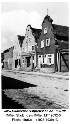 Rößel, Fischerstraße
