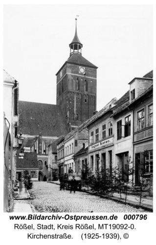 Rößel, Kirchenstraße