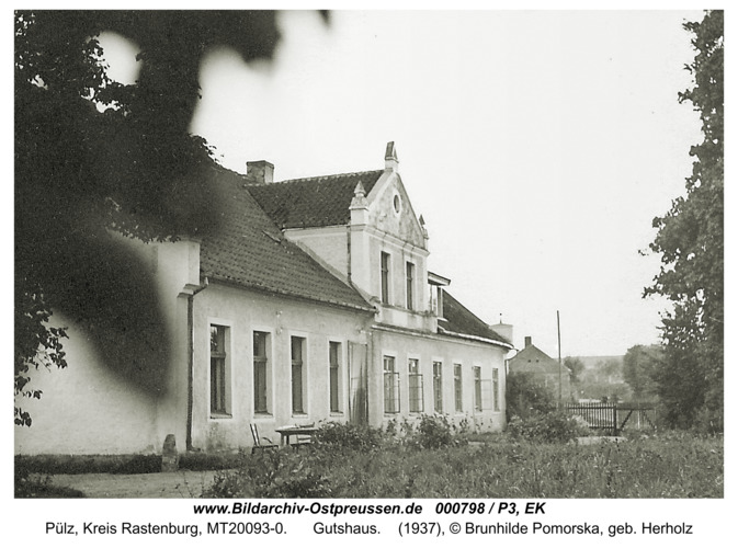 Pülz, Gutshaus