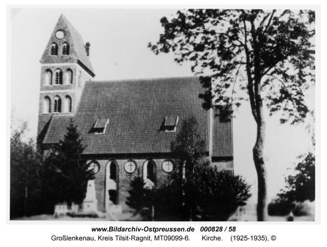 Groß Lenkenau, Kirche