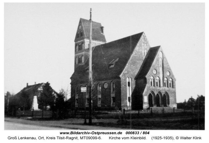 Groß Lenkenau, Kirche vom Kleinbild