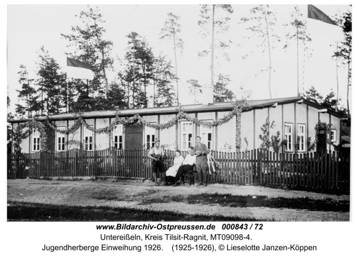 Unter-Eisseln, Jugendherberge Einweihung 1926
