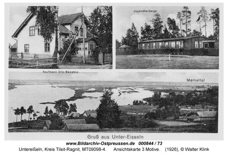 Unter-Eisseln, Ansichtskarte 3 Motive