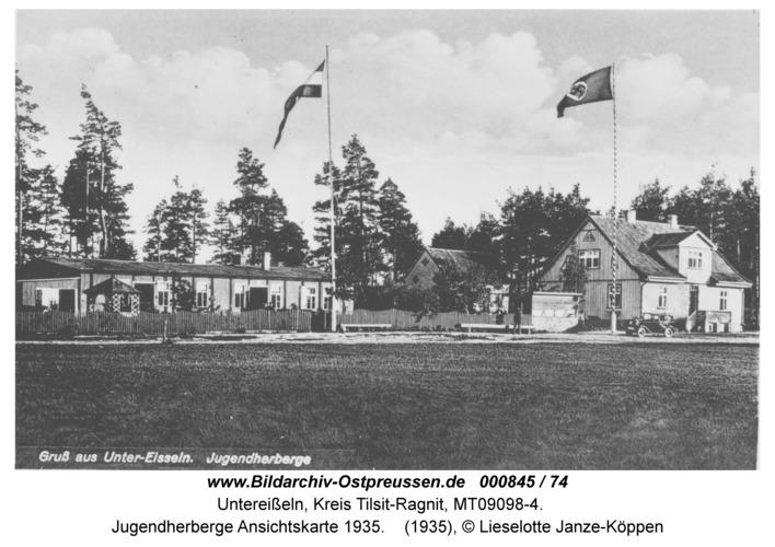Unter-Eisseln, Jugendherberge Ansichtskarte 1935