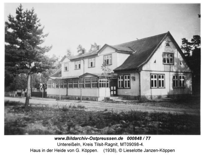 Unter-Eisseln, Haus in der Heide von G. Köppen
