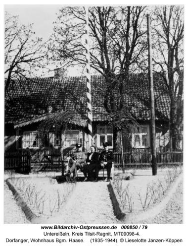 Unter-Eisseln, Dorfanger, Wohnhaus Bgm. Haase