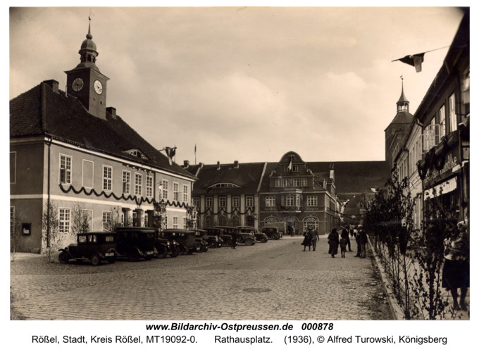 Rößel, Rathausplatz