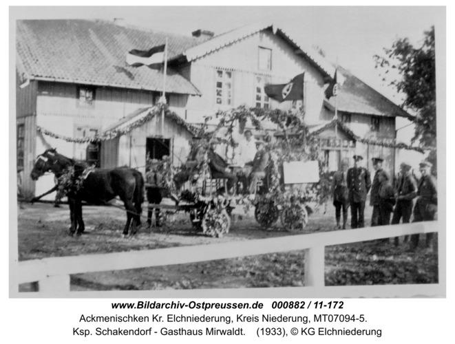 Dünen, Ksp. Schakendorf - Gasthaus Mirwaldt