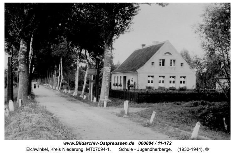 Elchwinkel, Schule - Jugendherberge