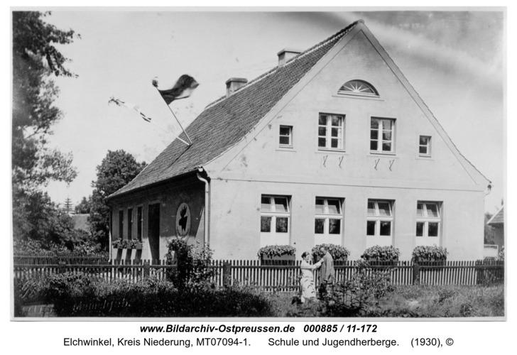 Elchwinkel, Schule und Jugendherberge